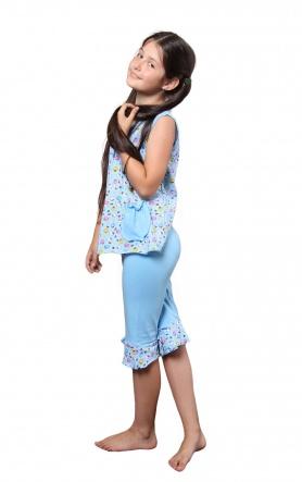 Піжами Пижама Лето  Голубой фото
