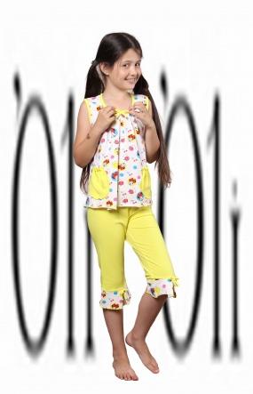 Піжами Пижама Лето  Желтый фото