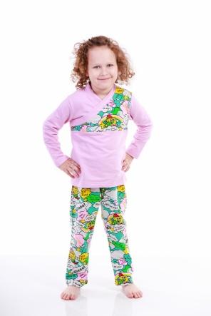 Піжами Пижама Губка Боб  Розовый фото
