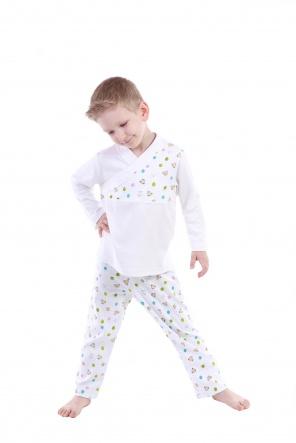 Піжами Пижама `Пуговка` Белый фото