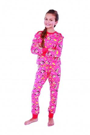 Домашні костюми Костюм домашний Обезьяны  Розовый фото