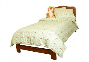 Півтораспальна постільна білизна Комплект постельного белья Салатовый фото
