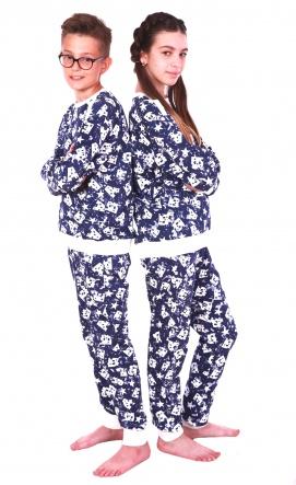 Домашні костюми Костюм домашний Буквы  Синий фото