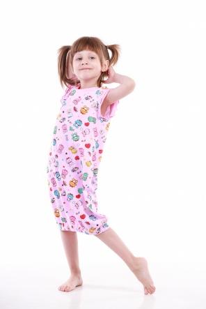 Нічні сорочки Ночная рубашка Babi  Розовый фото
