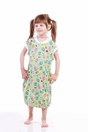 Нічні сорочки Ночная рубашка Babi  Зеленый фото