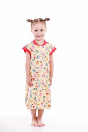 Нічні сорочки Ночная рубашка Babi  Желтый фото