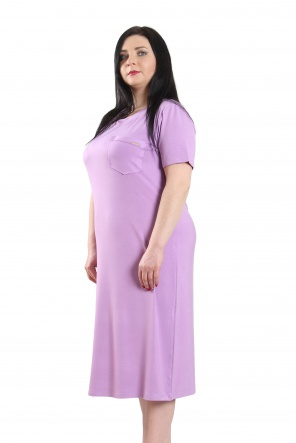 Нічні сорочки Ночная рубашка Карманчик  Светлый фиолетовый фото