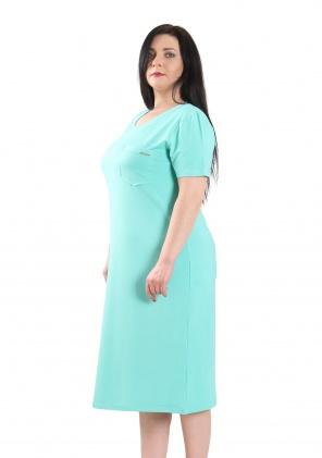 Нічні сорочки Ночная рубашка Карманчик  Мята фото