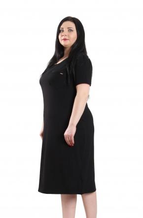 Нічні сорочки Ночная рубашка Карманчик  Черный фото