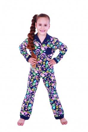 Піжами Пижама Класик  Синий фото