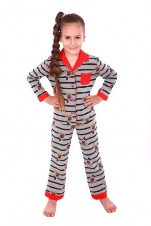 Піжами Пижама Класик  Серый фото