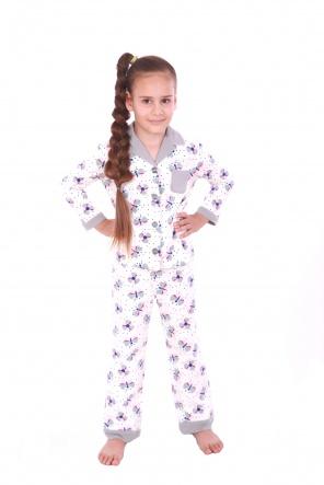 Піжами Пижама Класик  Белый фото