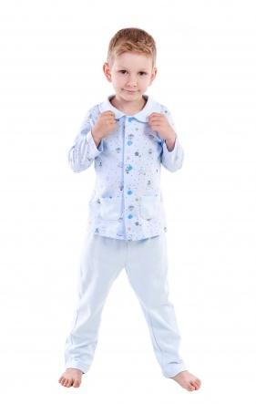 Піжами Пижама Армани  Голубой фото