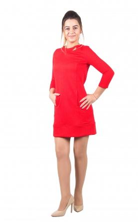 Плаття Платье Жаклин  Красный фото