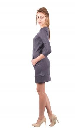 Плаття Платье Жаклин  Серый фото